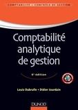 Louis Dubrulle et Didier Jourdain - Comptabilité analytique de gestion - 6ème édition.