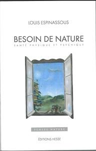 Louis Espinassous - Besoin de nature - Santé physique et psychique.