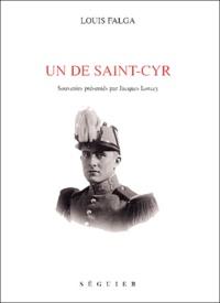 Louis Falga et Jacques Lorcey - Un de Saint-Cyr.
