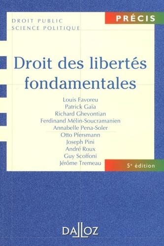 Droit des libertés fondamentales 5e édition
