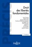 Louis Favoreu et Jérôme Tremeau - Droit des libertés fondamentales.