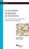 Louis Favreau et  Hébert - La transition écologique de l'économie.