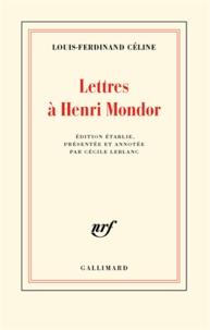 Coachingcorona.ch Lettres à Henri Mondor Image