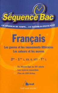 Louis-Georges Tin - Français Lycée - Les genres et les mouvements littéraires, les auteurs et les oeuvres.