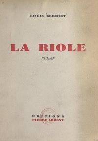 Louis Gerriet - La Riole.