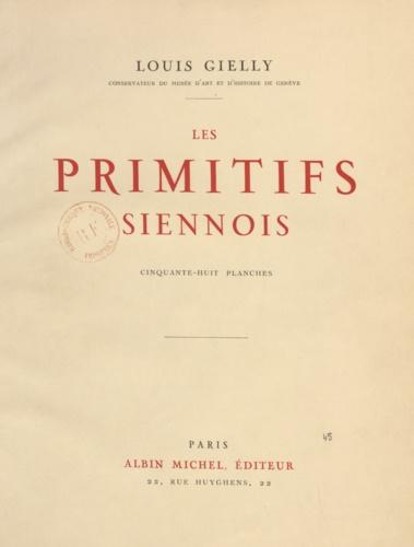 Les primitifs siennois