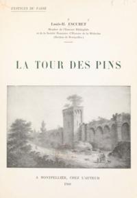 Louis-Henri Escuret - Vestiges du passé. La Tour des Pins.