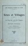 Louis Henseling - Sites et villages au long des rives de l'Argens - Quelques montagnes.