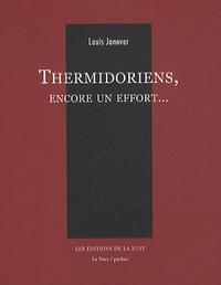 Louis Janover - Thermidoriens, encore un effort....