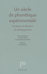 Histoiresdenlire.be Un siècle de phonétique expérimentale - Fondation et éléments de développement Image