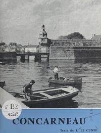 Louis Le Cunff et Jos Le Doaré - Concarneau.