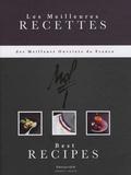 Louis Le Duff et Gérard Rapp - Les meilleures recettes des meilleurs ouvriers de France - Edition bilingue français-anglais.