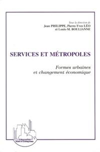 SERVICES ET METROPOLES. Formes urbaines et changement économique.pdf