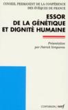 Louis-Marie Billé et  Collectif - Essor de la génétique et dignité humaine.