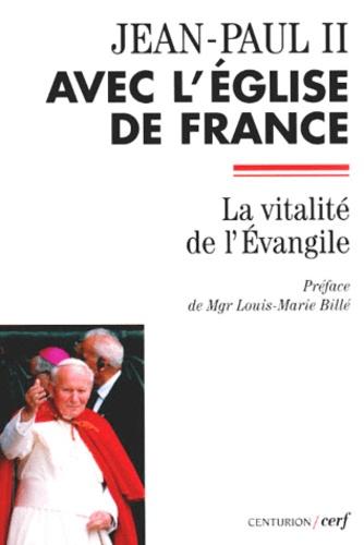 Louis-Marie Billé et  Jean-Paul II - .