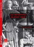 Louis-Marie Schmit - Les définitions en droit privé.