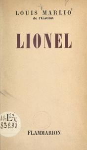 Louis Marlio et Lionel Mosséri - Lionel.