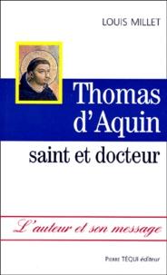 Louis Millet - Thomas d'Aquin, saint et docteur.