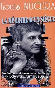 Louis Nucéra - La mémoire d'un siècle - Les conférences.