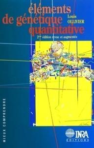 Rhonealpesinfo.fr Eléments de génétique quantitative. 2ème édition Image