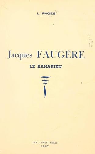 Jacques Faugère, le Saharien