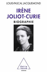 Louis-Pascal Jacquemond - Irène Joliot-Curie.