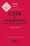 Louis Perdrix et Nathalie Maximin - Code des assurances - Code de la mutualité - Annoté & commenté.