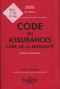 Code des assurances, code de la mutualité- Annoté et commenté - Louis Perdrix pdf epub