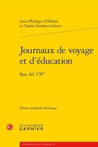 Journaux de voyage et déducation - SPA, été 1787.pdf