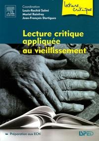 Louis-Rachid Salmi et Muriel Rainfray - Lecture critique appliquée au vieillissement.