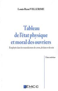 Louis-René Villermé - Tableau de l'état physique et moral des ouvriers - Employés dans les manufactures de coton, de laine et de soie.