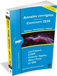 Louis Salkin et Alexandre Hérault - Annales des concours 2020 - MP physique, modélisation et chimie.