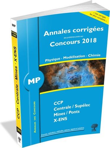 Physique, Modélisation, Chimie MP  Edition 2018