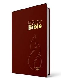 Louis Segond - La Sainte Bible - PVC grenat.