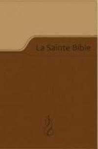 Louis Segond - La Sainte Bible - Nouvelle édition de Genève 1979, relié souple, Vivella brun duo.