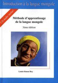 Louis-Simon Roy - Introduction à la langue mongole. 2 CD audio