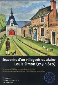 Louis Simon - Souvenirs d'un villageois du Maine.