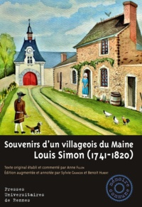 Louis Simon - Souvenirs d'un villageois du Maine.