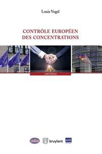 Contrôle européen des concentrations - Louis Vogel pdf epub