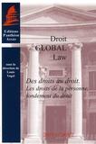 Louis Vogel - Des droits au droit - Les droits de la personne, fondement du droit.