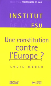 Rhonealpesinfo.fr Une constitution contre l'Europe ? Image