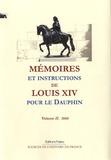 Louis XIV - Mémoires et instructions de Louis XIV pour le Dauphin - Volume 2, 1666.