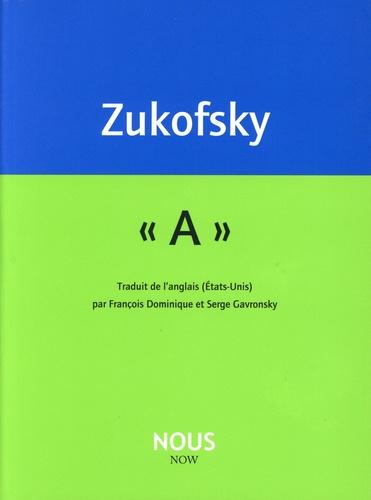 """Louis Zukofsky - """"A""""."""