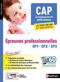 Louisa Rebih - CAP accompagnant éducatif petite enfance - Epreuves professionnelles EP1, EP2, EP3.
