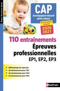 Louisa Rebih - CAP Accompagnant éducatif petite enfance - 110 entrainements. Epreuves professionnelles EP1, EP2, EP3.