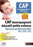 Louisa Rebih-Jouhet - CAP Accompagnant éducatif petite enfance - Epreuves professionnelles épreuves EP1, EP2, EP3.