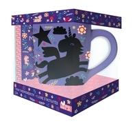 Louise Anglicas et Fanny Boiron - Coffret Mon mug magique licorne - Mes activités licornes avec 1 mug thermoréactif.