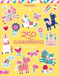 Louise Anglicas - Licornes - 250 Autocollants.