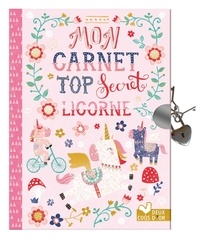 Deedr.fr Mon carnet top secret licornes Image