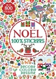Louise Anglicas et Rachel Cloyne - Noël 100% stickers.